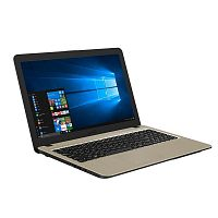 "Ноутбук  ASUS X540UB Silver Intel Core i3-7020U (up to 3.1Ghz), 4GB, 1TB + 120GB SSD, Intel HD Graphics 620, 15.6"" LED FULL HD (1920x1080), WiFi, BT, Cam, DOS, Eng-Rus"