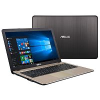 "Ноутбук  ASUS X540UB Gold Intel Core i3-7020U (up to 3.1Ghz), 4GB, 128GB SSD, Nvidia Geforce MX110 2GB, 15.6"" LED FULL HD (1920x1080), WiFi, BT, Cam, DOS, Eng-Rus"