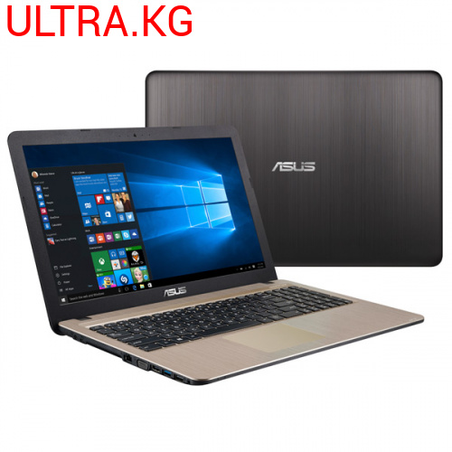 "Ноутбук  ASUS X540UB Gold Intel Core i3-7020U (up to 3.1Ghz), 4GB, 240GB SSD, Nvidia Geforce MX110 2GB, 15.6"" LED FULL HD (1920x1080), WiFi, BT, Cam, DOS, Eng-Rus"
