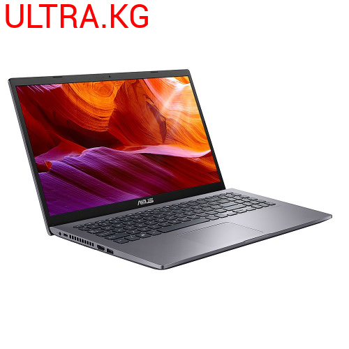 "Ноутбук ASUS X509 X509JA-DB71 Intel Core i7-1065G7 (1.30-3.90GHz), 8GB DDR4, 256GB SSD, Intel Iris Plus Graphics, 15.6""FHD (1920x1080) IPS, WiFi ac, BT 4.1, HD WC, CR, Win 10 Home, Русская клавиатура, Slate Gray Гарантия 12 месяцев"
