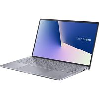 "Ultrabook Asus ZenBook 14 (Q407IQ) 14"" FHD (1920x1080) IPS, AMD Ryzen 5 4500U (2.3GHz-4.0Ghz), 8GB DDR4, 512GB SSD PCIe NVMe, Nvidia Geforce MX350 2GB, WiFi ax, BT, HD Cam, White Backlit Keyboard (Eng+Rus), Windows 10 Home, Light Grey"