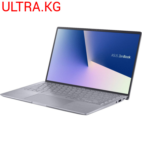 "Ультрабук Asus Zenbook Q407IQ-BR5N4 AMD Ryzen 5 4500U (2.30-4.00GHz), 8GB DDR4, 256GB SSD, NVIDIA MX350 2GB GDDR5, 14""FHD (1920x1080) LED, WiFi ax, BT 5.0, HD WC, CR, Win 10 Home, Backlit Русская клавиатура, Light Grey Гарантия 12 месяца"