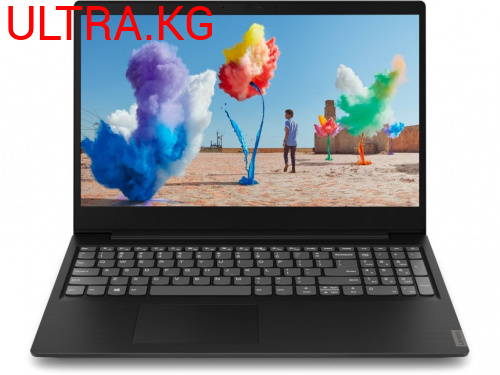 "Ноутбук  Lenovo Ideapad S145-15IGM Black Intel Quad Core N4100 (up to 2.4Ghz), 8GB, 240GB SSD, Intel HD Graphics, 15.6"" LED, WiFi, BT, Cam, DOS, Eng-Rus"