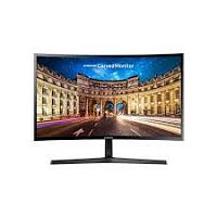 "Monitor LCD 23.5"", Samsung LC24F390FHIX изогнутый монитор, VA, FreeSync, 1920x1080, 3000:1, 250cd/m2, 178/178, 4ms, D-Sub, HDMI, выход на наушники"