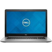 "Ноутбук  DELL Inspiron 5770 Silver Intel Core i3-7020U (2.3Ghz), 8GB, 1TB + 128GB SSD, AMD Radeon 530 2GB 2GB, 17.3"" IPS  FULL HD (1920x1080), WiFi, BT, Cam, DOS, Eng-Rus"